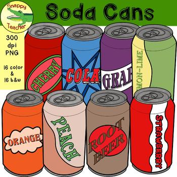 Soda Can Clip Art.