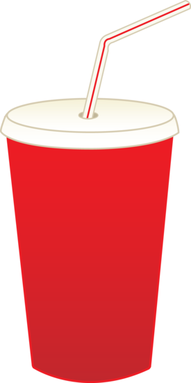 Clip Art Picture soda pop cup.