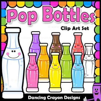 Bottles of Soda Pop Clipart in 2019.