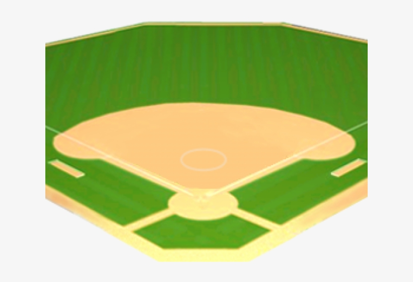 Softball Field Clipart.