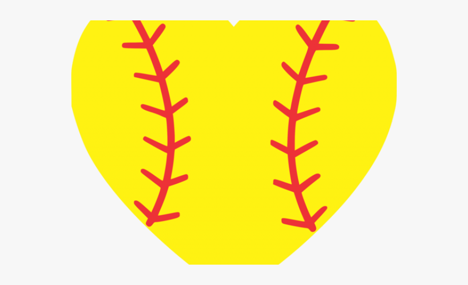 Heart Pictures Clipart Softball.