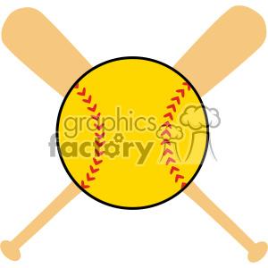 softball svg cut file clipart. Royalty.