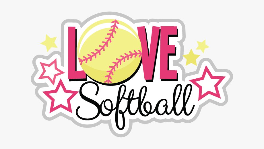 Love Clipart Softball.