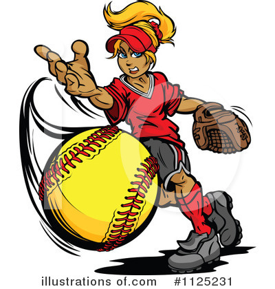 Softball Clipart #1125231.