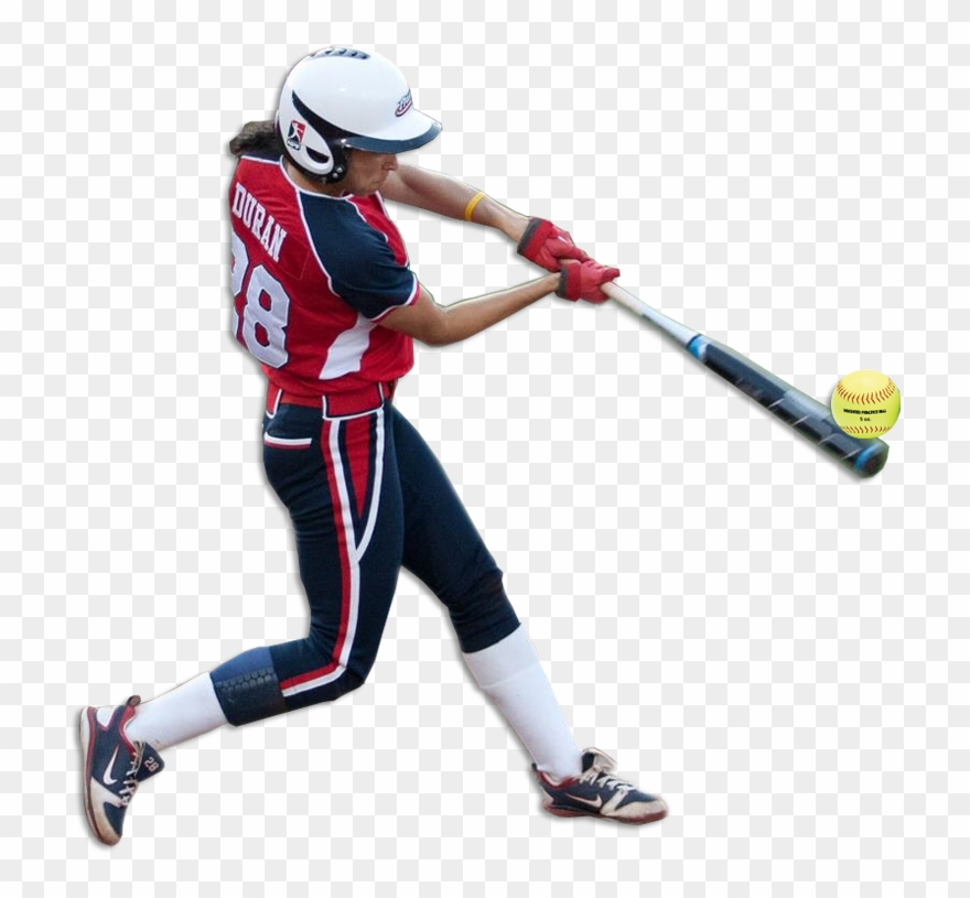 Softball Player Png Clipart (#1359041).