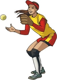 Softball Player Clipart & Look At Clip Art Images.