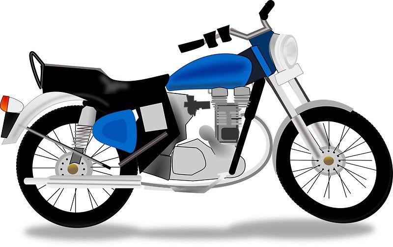 Art royal motorcycle.