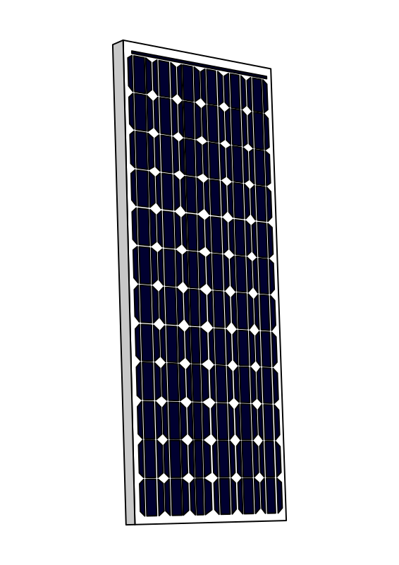 Solar Panel Clip Art Solar power also known as clean as well.
