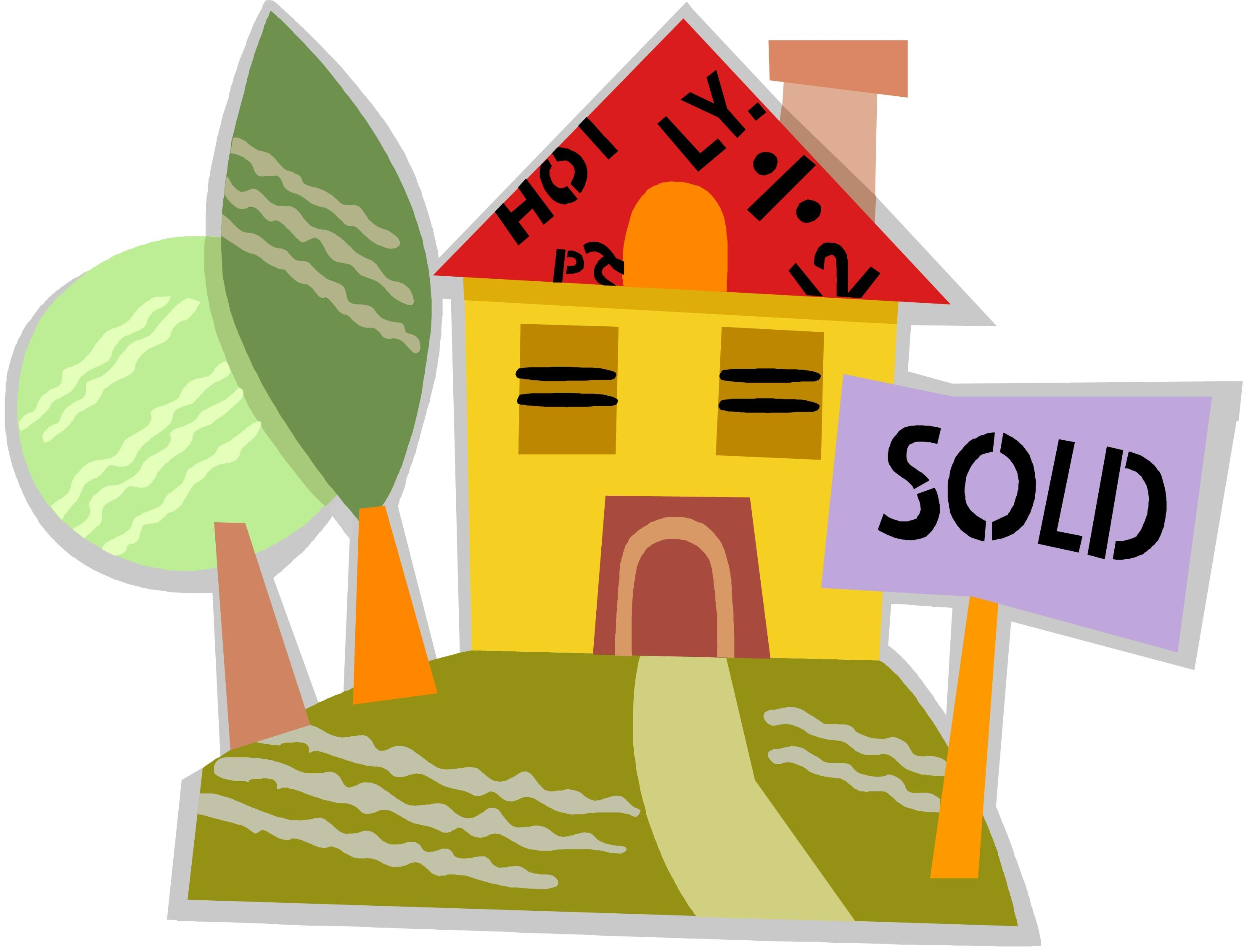 Sold House Clip Art Free.