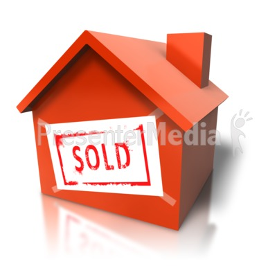 clipart sold house #10