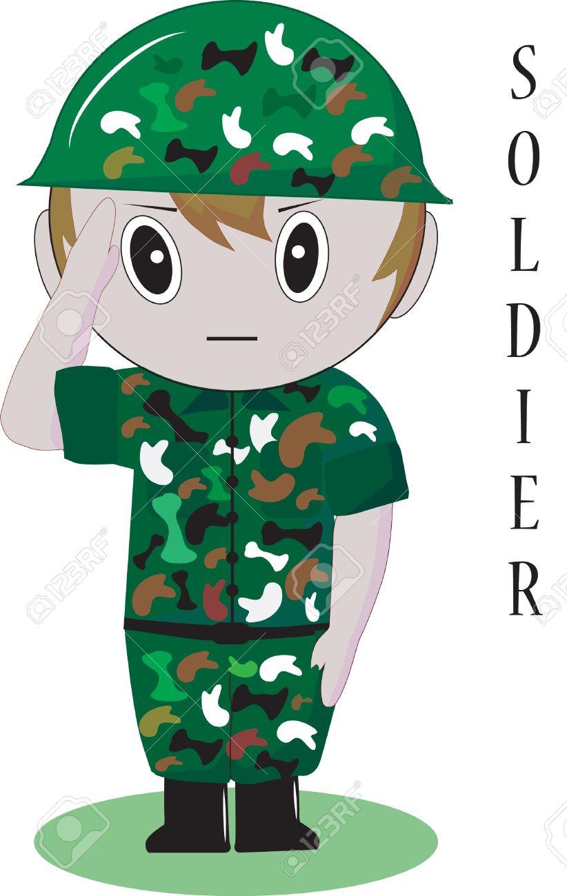 clipart soldat #5