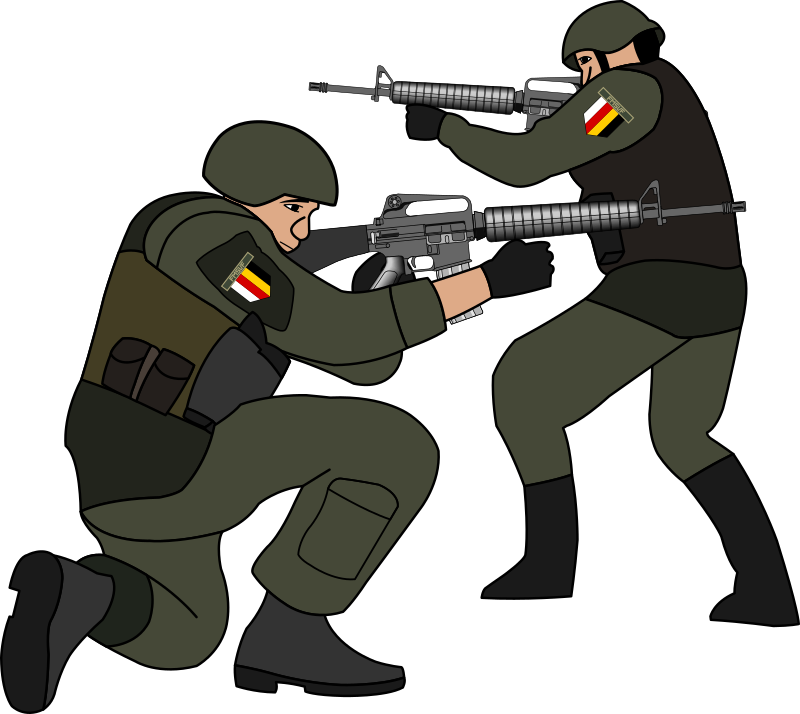 Soldiers clipart 1 » Clipart Station.