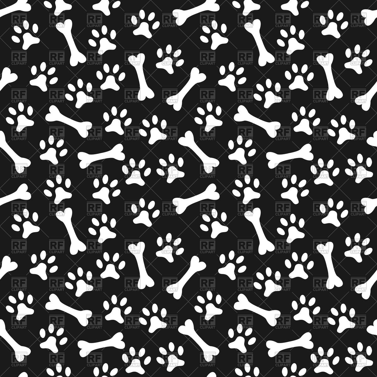 Dog Bone Background.