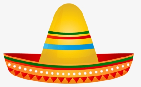Transparent Sombreros Clipart.
