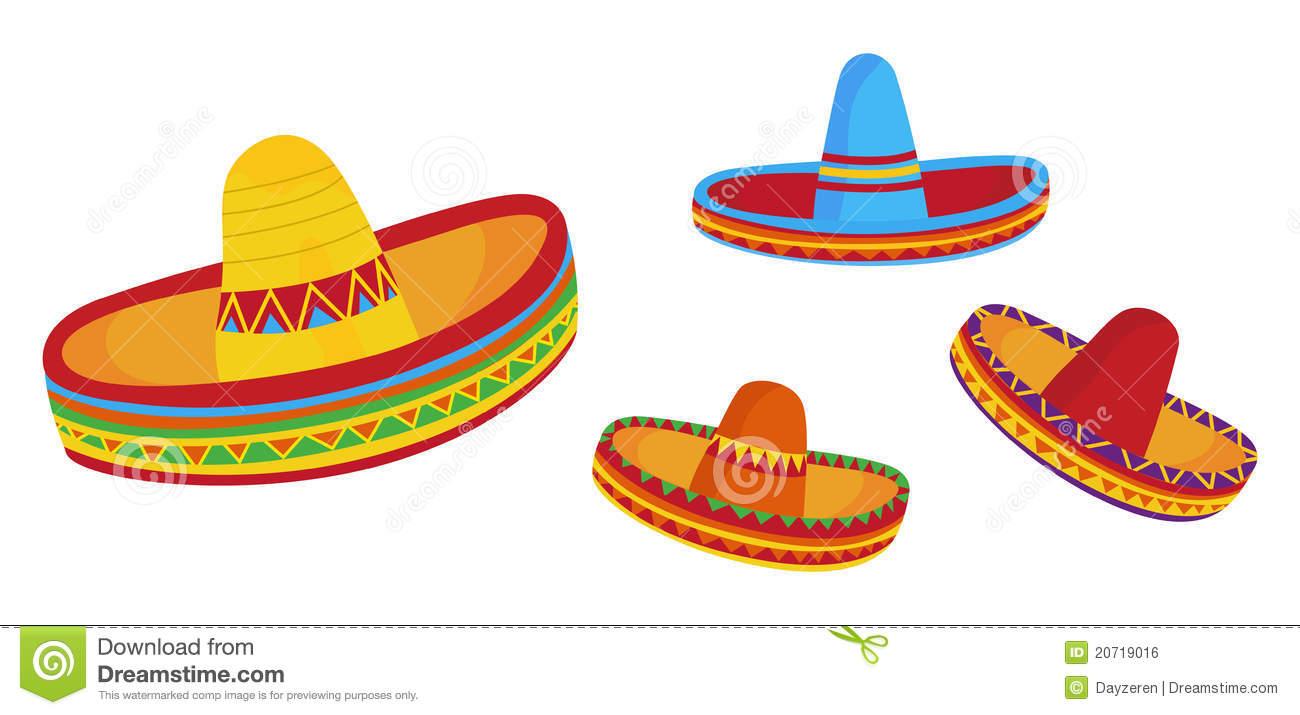 Sombreros stock vector. Illustration of clipart, vector.