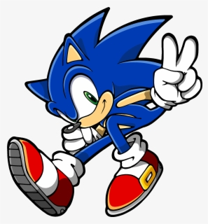 Free Sonic The Hedgehog Clip Art with No Background.