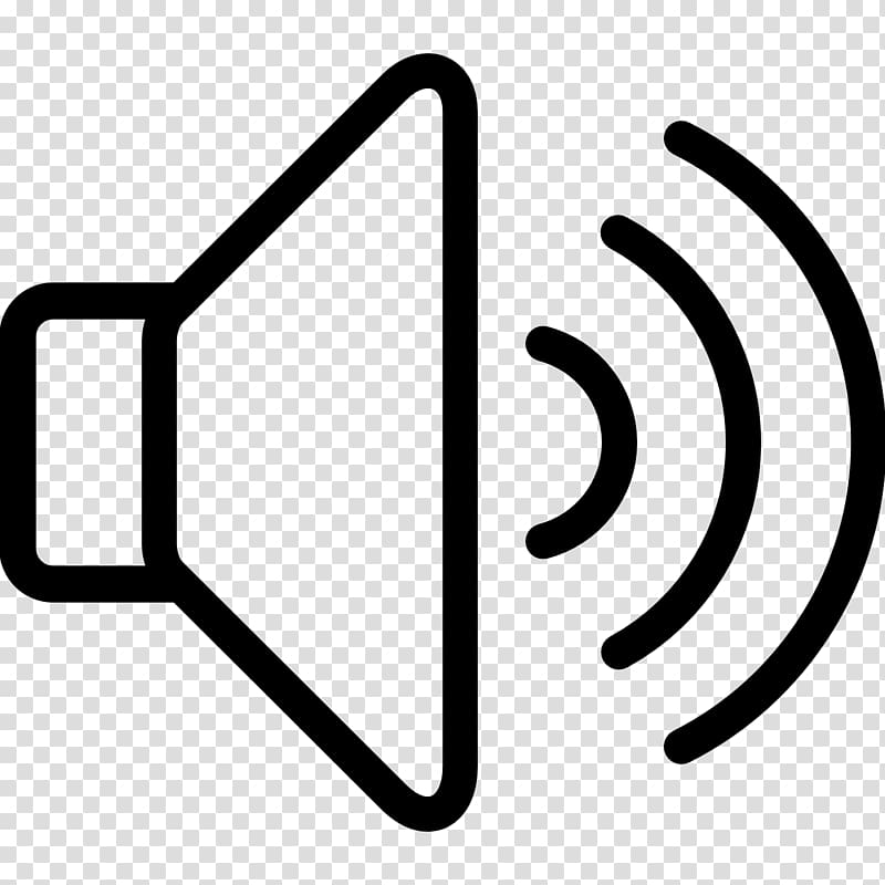 Computer Icons Sound icon, volume transparent background PNG.
