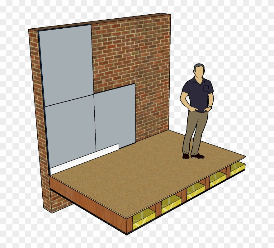 Soundboard Wall Soundproofing Mm Clip Art Freeuse.