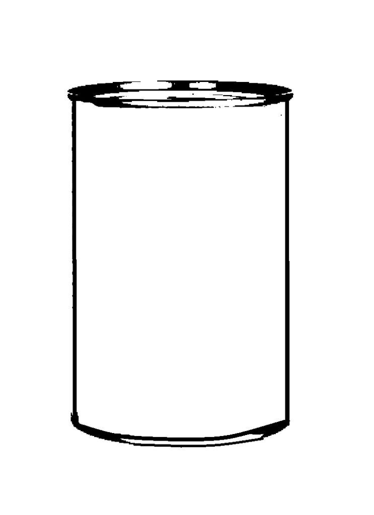 Soup can clipart 1 » Clipart Station.