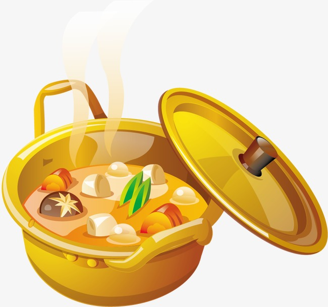 Pot of soup clipart 6 » Clipart Station.