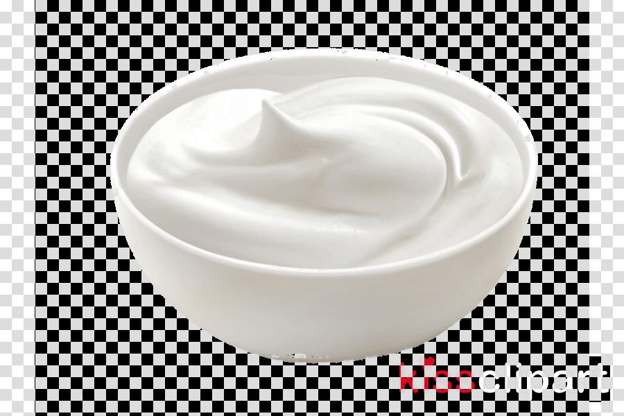 white cream crème fraîche sour cream whipped cream clipart.