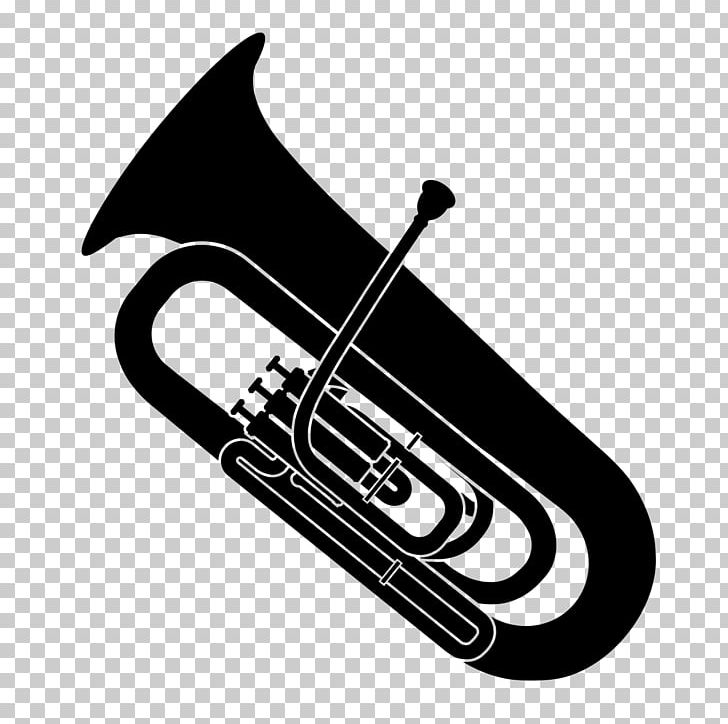 Musical Instruments Saxhorn Trumpet Tuba Sousaphone PNG.