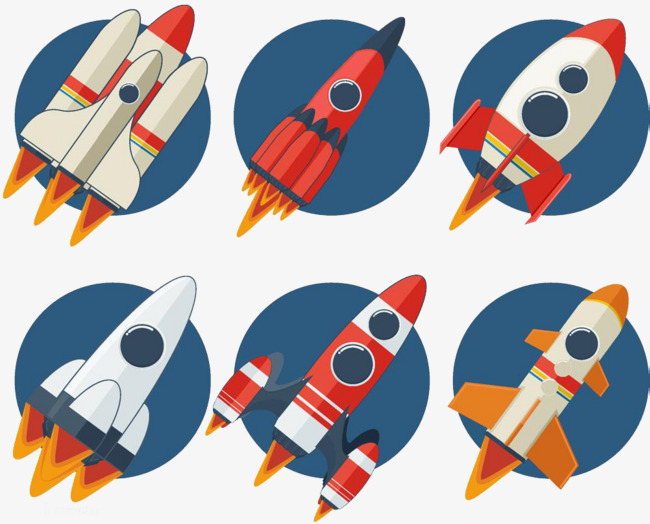 Space rocket clipart 3 » Clipart Station.