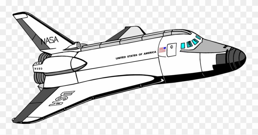 Space Shuttle Clip Art.