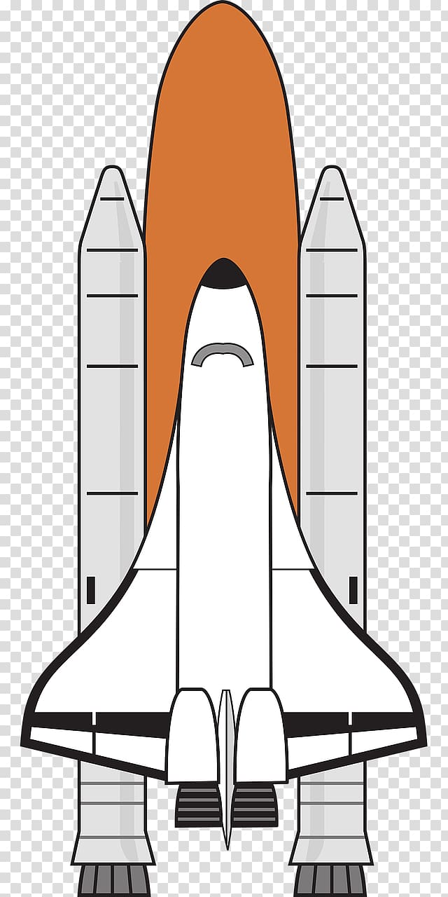 Space Shuttle Spacecraft , rockets transparent background.