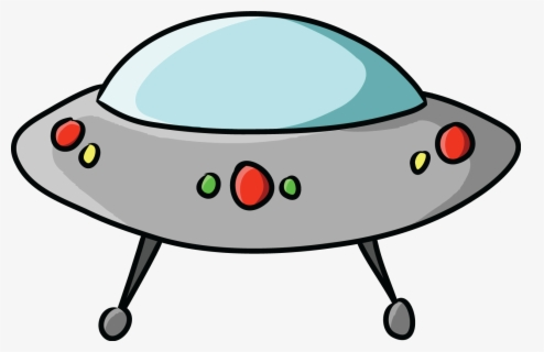Free Spaceship Clip Art with No Background.