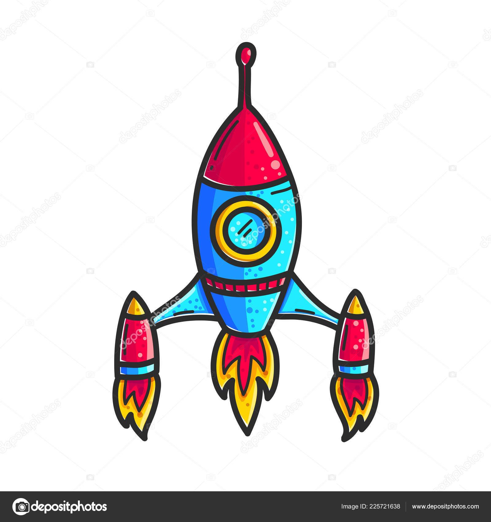 Clipart: spaceship.