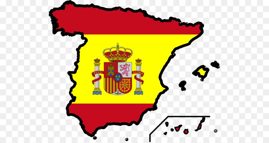 Spain flag clipart 3 » Clipart Station.