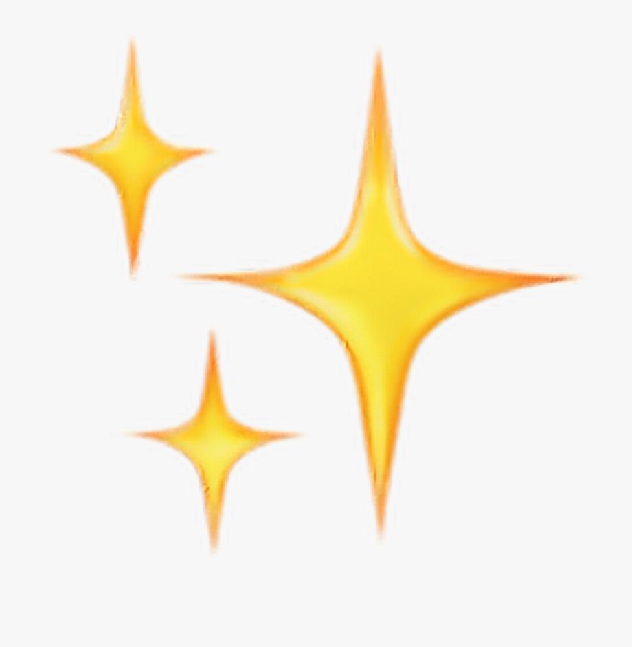 Emoji Sparkles Clipart , Png Download.