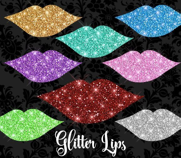 Glitter Lips Clipart #glitterlipsclipart #glitterlipsclipart.