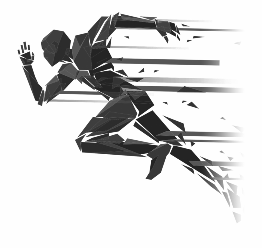 Free Track Runner Silhouette, Download Free Clip Art, Free.