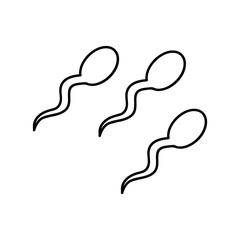 Sperm Clipart photos, royalty.