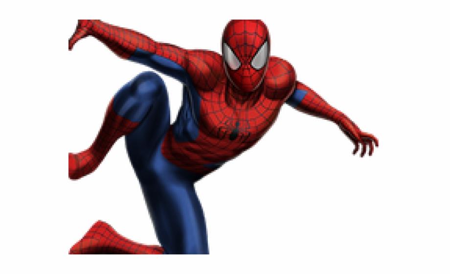 Iron Spiderman Clipart Cartoon.