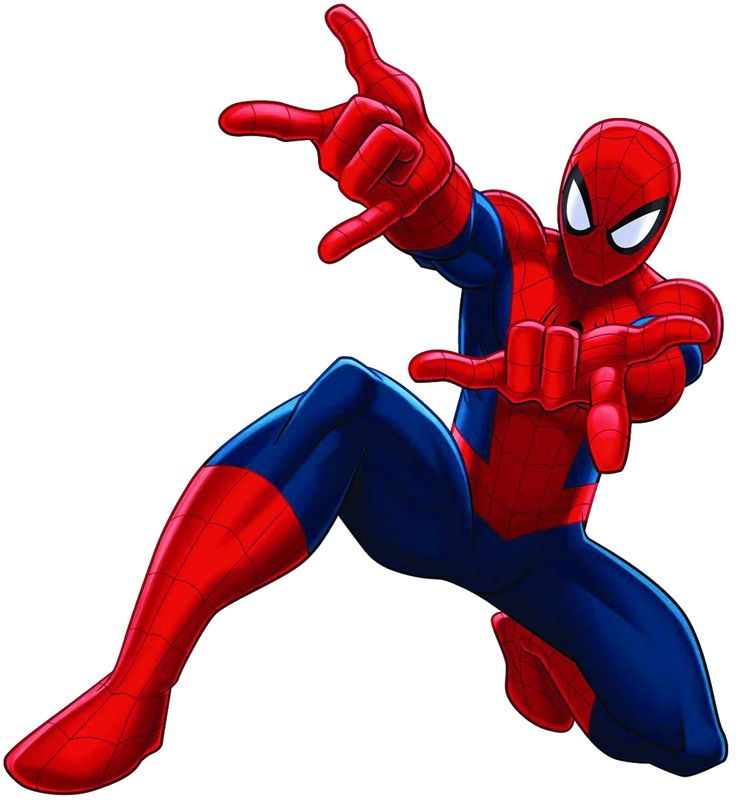 Spiderman Clipart.