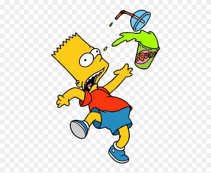 Simpsons Clip Art.