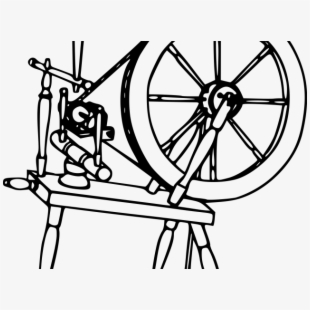 Spinning Wheel Clipart #341357.