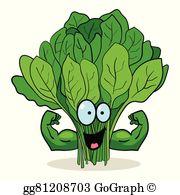 Spinach Clip Art.