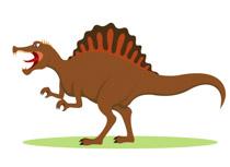 Angry spinosaurus dinosaur clipart » Clipart Station.