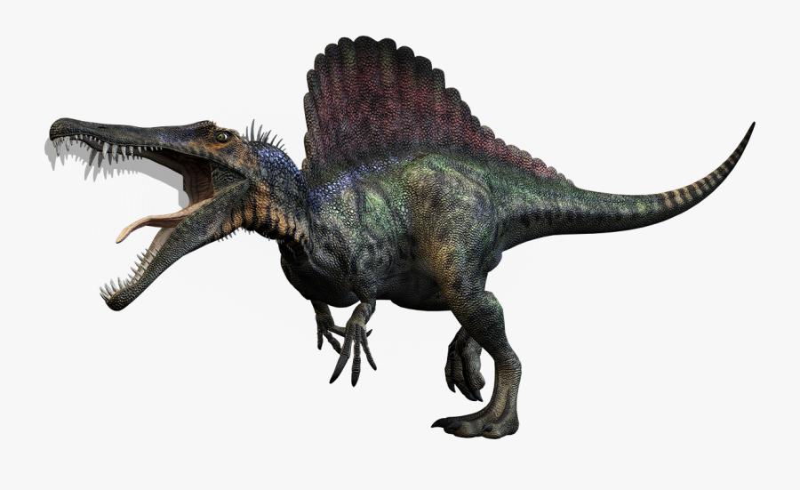 Clip Art Picture Of Spinosaurus Dinosaur.