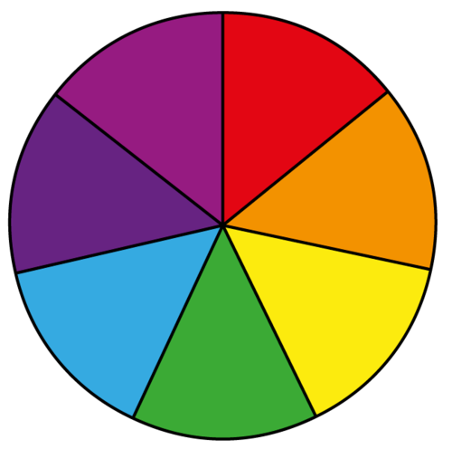Spin Wheel Template.