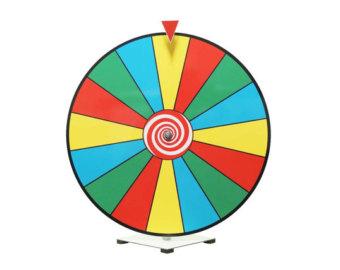 Spin Wheel Printable.