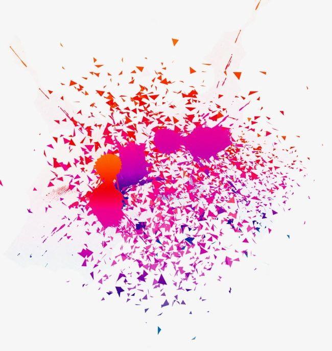Colorful Splash Effect PNG, Clipart, Color, Colorful.