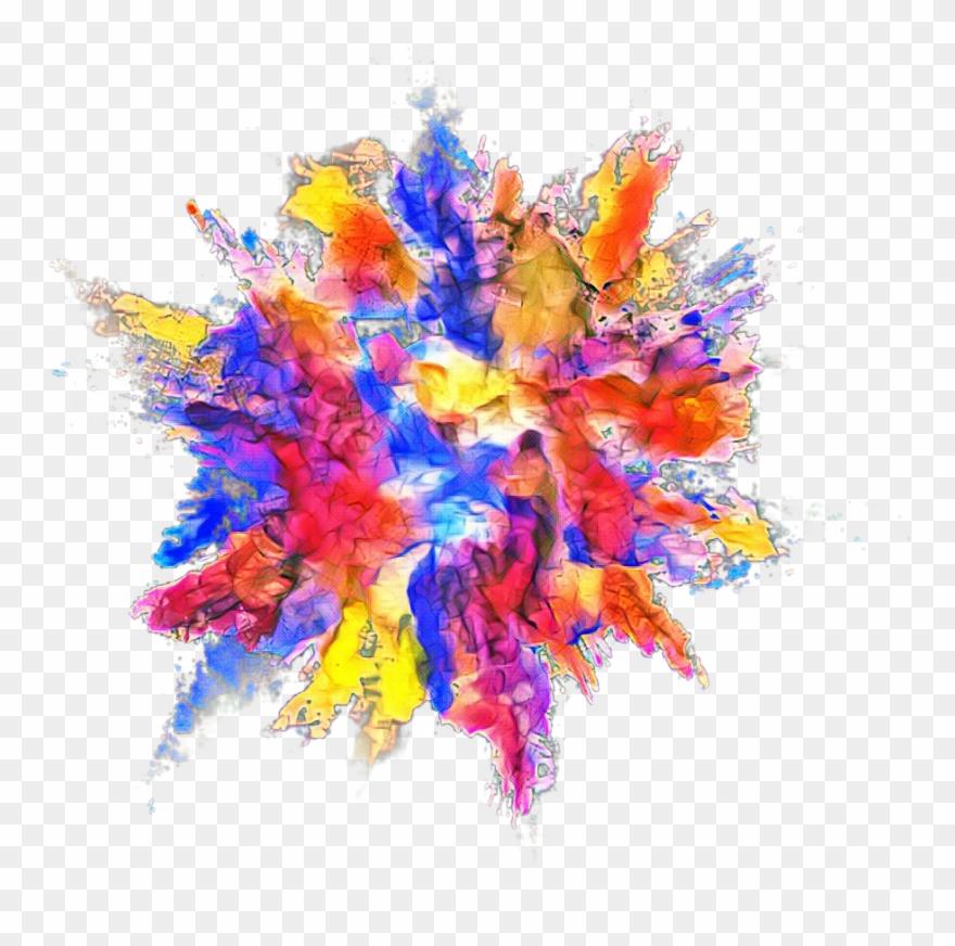 Powder Dust Splash Effect Clipart (#2606634).