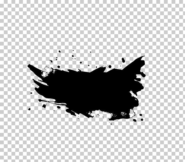 Desktop Black and white, splash effect PNG clipart.
