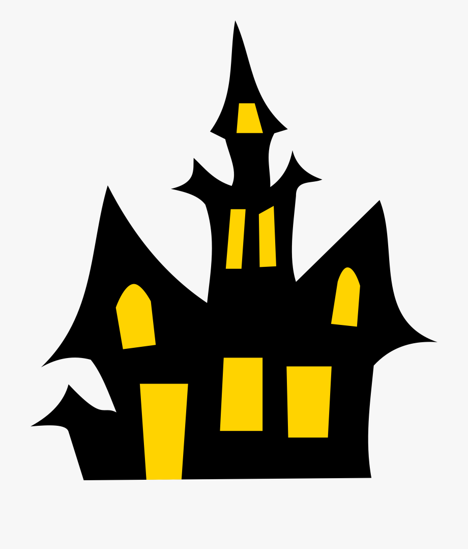 Haunted House Clip Art.