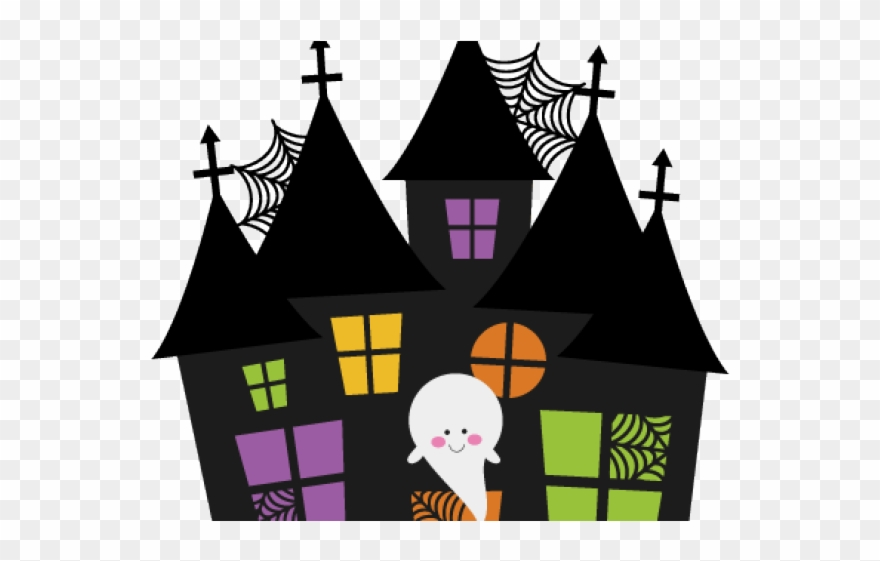 Haunted Clipart Large.